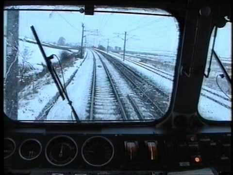 87014 Penrith - Oxenholme via Shap. Winter Cab Ride. Drivers Eye View