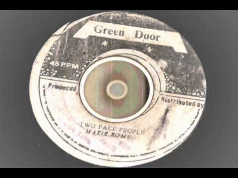 max romeo - two face people - green door records roots reggae