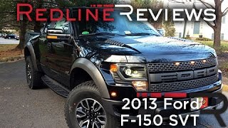 2013 Ford F-150 SVT Raptor Review, Walkaround, Exhaust, Test Drive