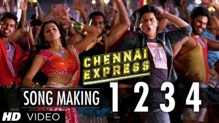 1234 Get on the Dance Floor Song Making Chennai Express | Shah Rukh Khan & Priyamani