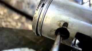 6. Suzuki JR50 Piston Ring replacing