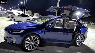 762 HP Tesla Model X  P90D - a Bracket Racer? Drag Test X 2 RoadTestTV by Road Test TV