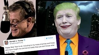 Video Mark Hamill Reading Donald Trump's Tweets As The Joker Is Terrifying MP3, 3GP, MP4, WEBM, AVI, FLV Juni 2018