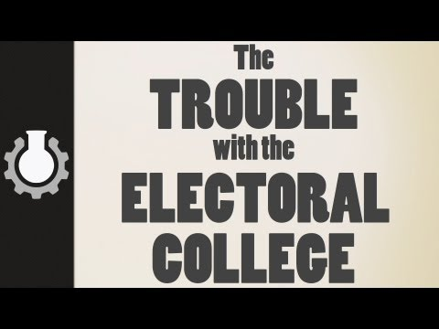 college video - The problem with the Electoral College in the modern world. *T-Shirts now for sale!* http://goo.gl/1Wlnd Grey's blog: http://www.cgpgrey.com/blog/ If you wou...