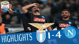 Video Lazio - Napoli 1-4 - Highlights - Giornata 5 - Serie A TIM 2017/18 MP3, 3GP, MP4, WEBM, AVI, FLV Februari 2018