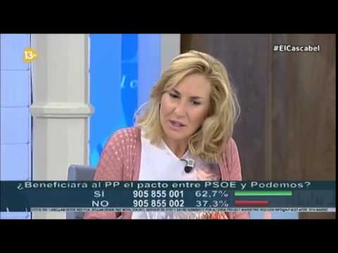 Ana Beltrán, entrevistada en El Cascabel, en 13 TV...