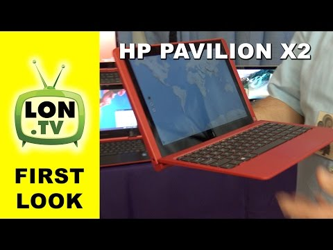 First Look: HP Pavilion X2 Hybrid Tablet / Laptop with USB-C - New for 2015