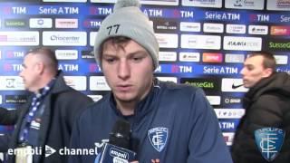 Preview video Federico Dimarco e Marcel Buchel al termine di Atalanta-Empoli