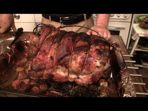Video Recipe: How to Make a Simple Juicy Porchetta Roast Pork Shoulder