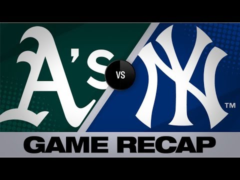 Video: Profar, Anderson lead A's past Yankees | Athletics-Yankees Game Highlights 8/30/19