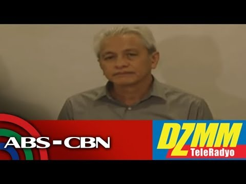 DZMM TeleRadyo: Police dare Red consultant's camp - File raps over 'missing' bank card