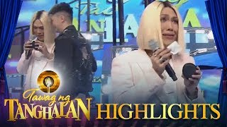 Tawag ng Tanghalan: Vice and Vhong find something in TNT contestant Charlie's little wallet