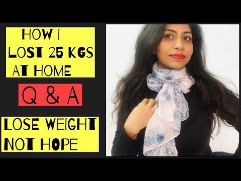 Diet plans - My 25kgs weight loss  Q & A  Azra Khan fitness