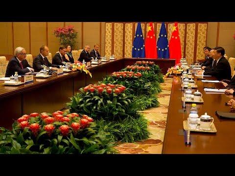 Σύνοδος ΕΕ-Κίνας με φόντο τον εμπορικό πόλεμο του Τραμπ…