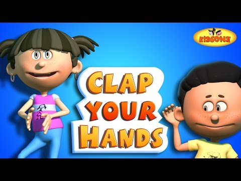 Clap Your Hands | 3D Animation Children English Nursery Rhymes | KidsOne