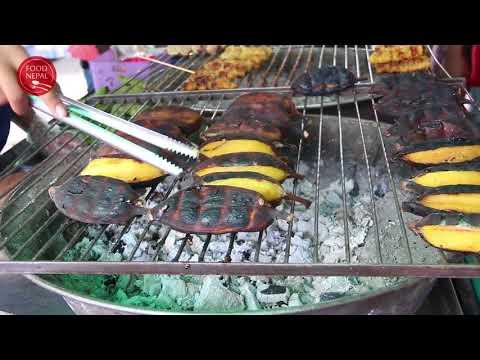 (Grilled Bananas At Bangkok Steet Food Thailand - Food Nepal - Duration: 2 minutes.)