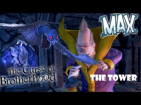 Let's Play Max: The Curse of Brotherhood - The Tower Ch. 7-1 (Xbox 1 Gameplay)