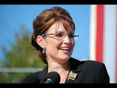 Palin - A video of Sarah Palin trying to use words for a speech http://www.addictinginfo.org/2014/08/10/this-rambling-incoherent-mess-of-a-video-is-what-conservativ...