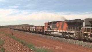 Cowra Australia  City pictures : BHP empties through Cowra : Australian trains and railroads
