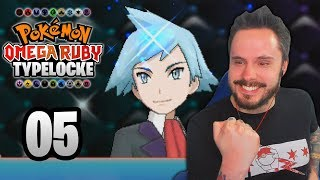 CHAMP ALREADY? MUST BE A SPEEDRUN | Pokémon Omega Ruby Randomizer Typelocke Part 05 by Ace Trainer Liam