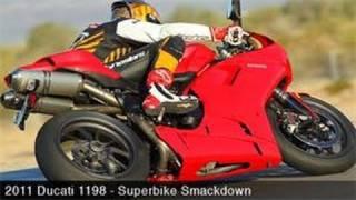 9. 2011 Ducati 1198 Track Smackdown