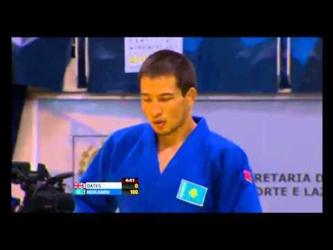 Казахстанский дзюдоист Муканов выиграл схватку на чемпионате мира за 19 секунд
