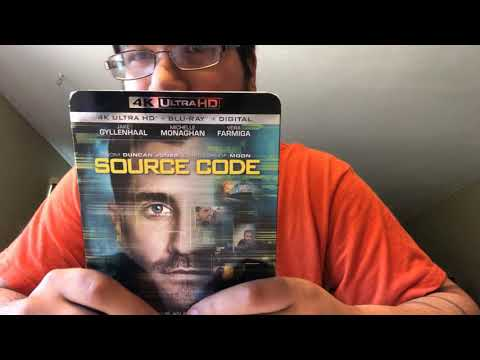 Source Code 4K Ultra HD Blu-Ray Unboxing