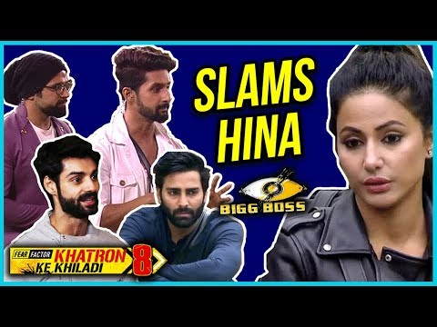 Khatron Ke Khiladi 8 Contestants SLAM Hina Khan Fo