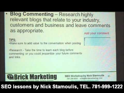 Watch 'Blog Commenting Organization Tips '