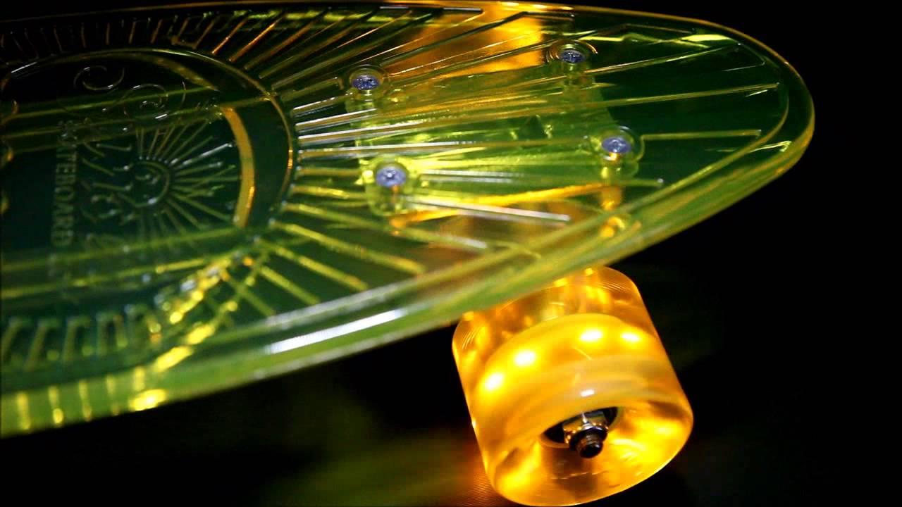 maxresdefault Transparent leuchtende LED Skateboards von der Sunset Skateboard Company