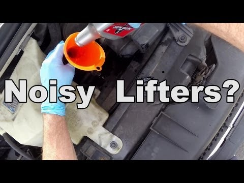 NOISY LIFTERS? Motor Flush - Does It Work?  HOW TO DO IT YOURSELF
