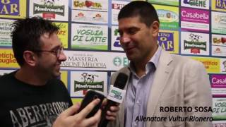 Preview video Bisceglie - Vultur Rionero: Interviste post gara