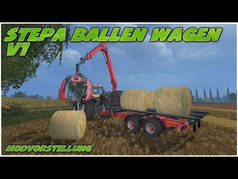 Stepa Forage platform trailer v1
