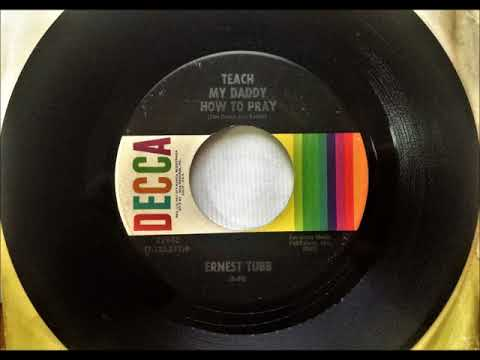 Teach My Daddy How To Pray , Ernest Tubb , 1972 (видео)