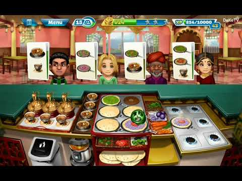 Cooking Fever - Indian Diner Restaurant Level 34 | Cooking GamePlay