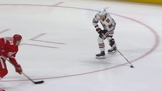 Patrick Kane extends point streak to 19 games by NHL
