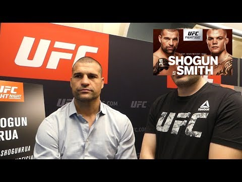 Shogun Rua Open To Alexander Gustafsson Rematch L UFC Hamburg