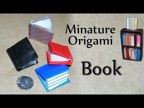 Stationary Tutorial - 039 -- Miniature Book