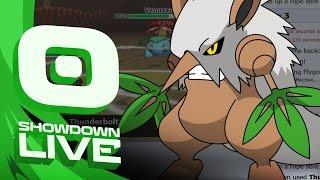 Pokemon OR/AS! RU Showdown Live w/PokeaimMD! - Ep 58: SD SHIFTRY by PokeaimMD