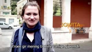 Unge mennesker forteller om sin tro
