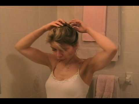 Easy and Pretty Updo Hairstyle - Up do Long Hair Style Tutorial. Time: 4:10