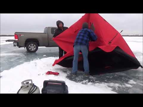 ICE FISHING 2018. Trying for more Northern Pike. (видео)