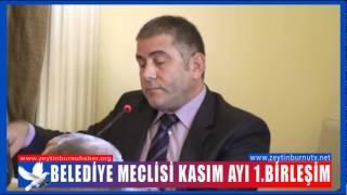 Zeytinburnu Belediye Meclisi Kasım Ayı 1 Birleşim