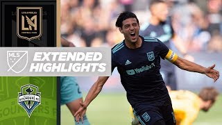 LAFC vs. Seattle Sounders FC | HIGHLIGHTS - April 21, 2019 by Major League Soccer
