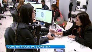 Procura por cadastramento biométrico é baixa no Centro-Oeste Paulista