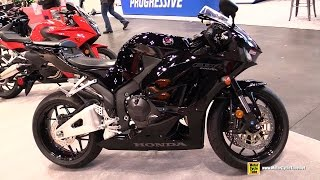 8. 2015 Honda CBR600RR ABS - Walkaround - 2014 New York Motorcycle Show