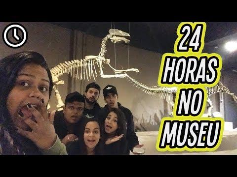 24 HORAS NO MUSEU !!! (видео)