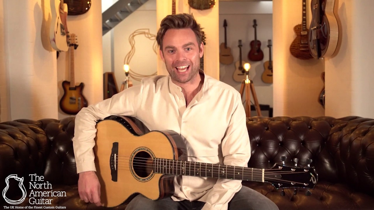 Ryan Nightingale Grand Soloist Acoustic Guitar, Macassar Ebony & Sitka, Presented By Ben Montague