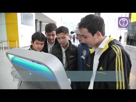 Школьников познакомили с работой служб аэропорта «Нурсултан Назарбаев»
