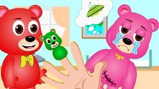 Mega Gummy Bear Pregnant Mom Devil Finger Family Rhyme For Kids | GummyBear crying full download video download mp3 download music download